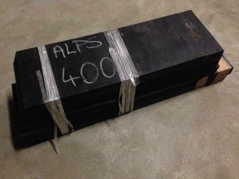 Gummiskær kpl. AlpS 400